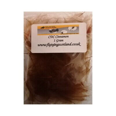 CDC Feathers 1g Bags Natural Or Dyed Fly Tying Feathers Fly Tying Scotland • 5.50£