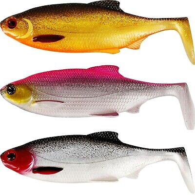 Westin Ricky The Roach Shads - NEW COLOURS - Perch Zander Pike Fishing Lures • 5.89£