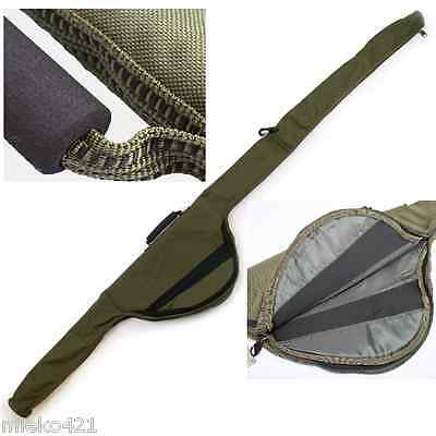 NGT (514) Carp Fishing Padded Rod Bag Sleeve For Made Up Rods Newest Model! • 14.95£