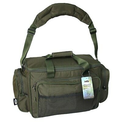 NGT New Model 709 Green Carryall Carp Fishing Tackle Bag Holdall • 19.95£