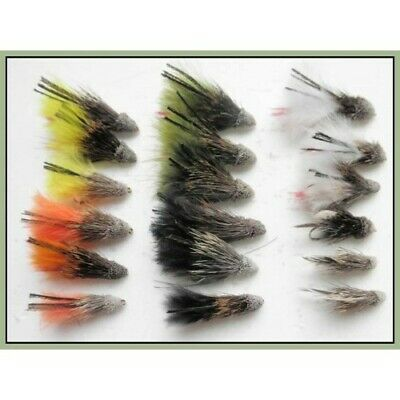 Muddler Minnow Trout Flies, 18 Pack, 6 Colours Mixed Size 8/10/12, Fishing Flies • 6.99£