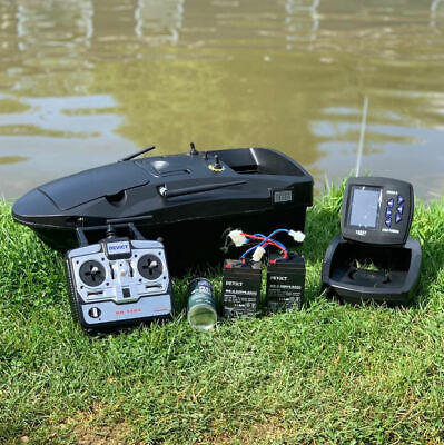 Brand New Carp Bait Boat Lake Reaper Now Fitted With New Top Quailty Fish Finder • 569.99£