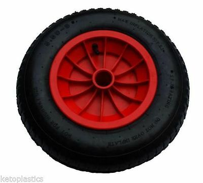 14  Replacement Puncture Proof Wheelbarrow Wheel Choose Bore Size 3.50/4.00-8 • 16.95£