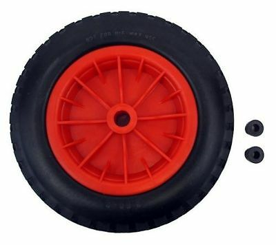 16  Replacement Puncture Proof Wheelbarrow Wheel Choose Bore Size 4.80/4.00-8 • 117.95£