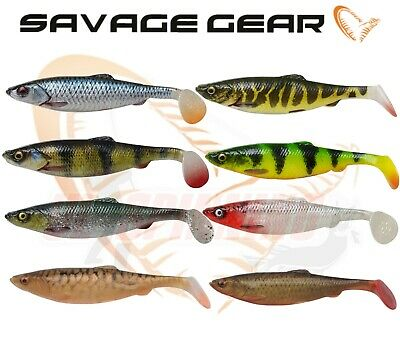 Savage Gear 4D Herring Shad 9/11/16/19/25cm Sizes Lure Fishing Soft Bait Bulk UL • 5.99£
