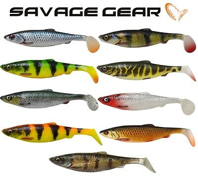 Savage Gear 4D Herring Shad 9cm11cm 16cm 19cm 25cm Soft Plastic Fishing Lures  • 5.99£