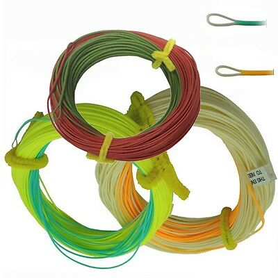 Aventik Float Trout Line Double Colors Weight Forward With Welded Or Expose Loop • 8.47£