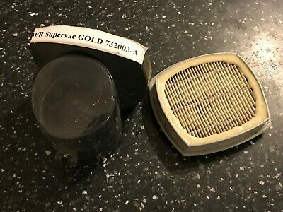 FILTER & HOUSING FOR MORPHY RICHARDS GOLD SUPERVAC STICK VACUUM Model 732003 • 12.99£