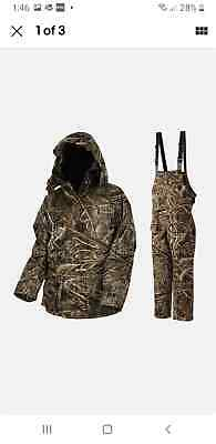 New ProLogic Max-5 Comfort Thermo Camo Suit Waterproof  Fishing +FREE GIFTS • 97.99£