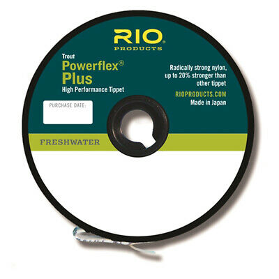 Rio Powerflex® PLUS Tippet. Leader Material 50m Spool £9.99 • 9.99£