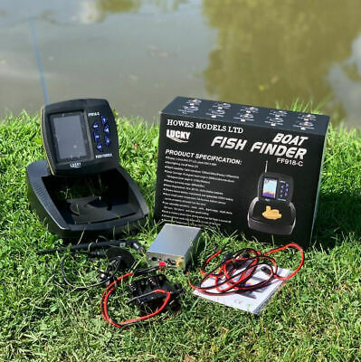 Lucky Ff918c Wireless Sonar Colour Fish Finder For Lake Reaper Bait Boats  • 189.99£