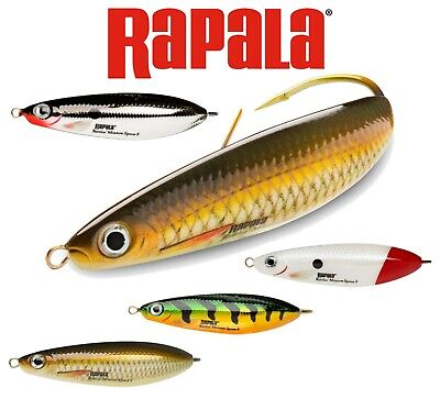 Rapala Fishing Lures Minnow Spoon Weedless Lure Bait All Colours 8cm 16g Pike • 8.95£