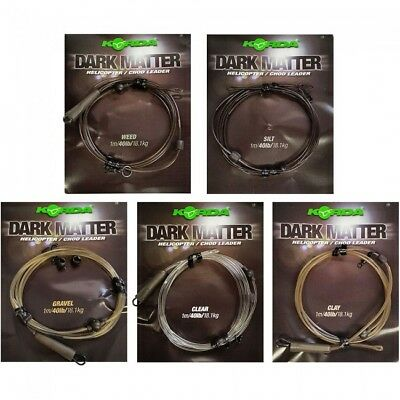 KORDA Dark Matter Ready Made Leaders Fast Free Delivery • 6.25£