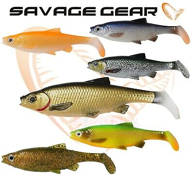 Savage Gear 3D ROACH PADDLE TAIL Fishing Soft Plastic Lures 7,5cm 10cm 12,5cm UL • 3.99£