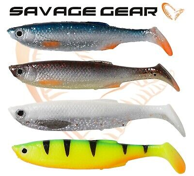 New Savage Gear 3D BLEAK PADDLE TAIL Shad LB Soft Plastic Lures Fishing All Size • 4.99£