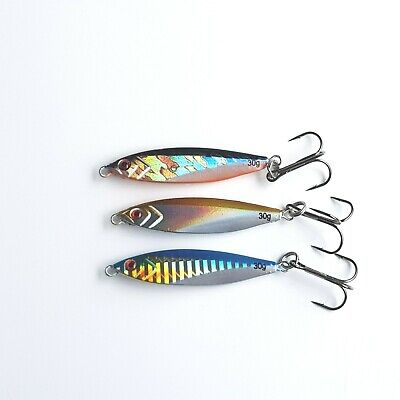 Pike Fishing Lures X3 (30g Each) • 6.50£