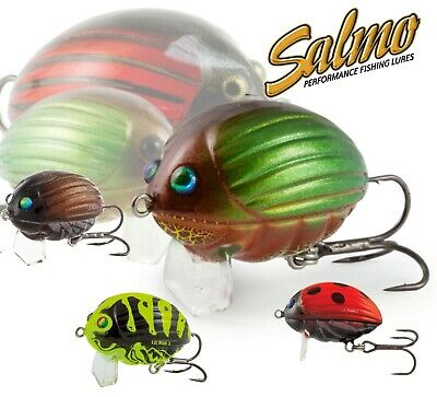 FOX Salmo Ultra Light Lure Fishing LIL BUG New 2cm Top Water Floating Crank Chub • 8.99£