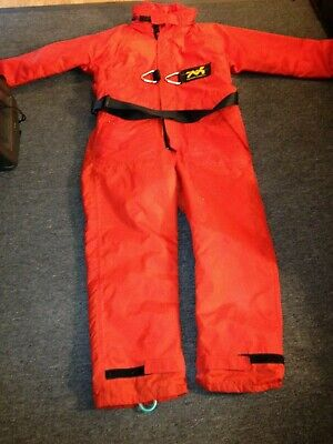 A Fishing Thermotic Flotation Suit - Size Medium - Inside Leg 68 • 55£