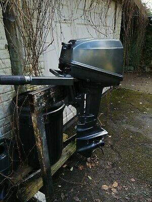 Mariner/Yamaha 6/8hp Short Shaft Outboard Motor With 22 Litre Fuel Tank • 550£