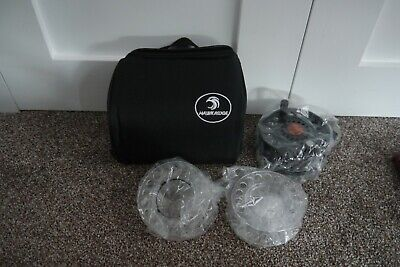 Hawk Ridge Alize Aluminium 7/8 Fly Reel New With Spare Spools And Bag Fly Tackle • 50£