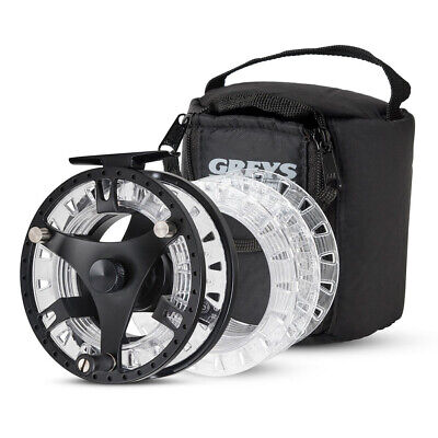 Greys GTS 500 Fly Fishing Reels #5/7 & #7/9 And Separate #5/7/9 Spare Spools • 42.50£