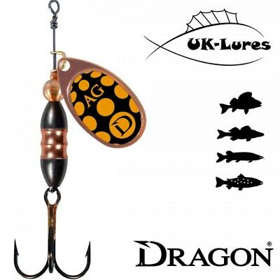 Lure Fishing Spinner Dragon AG-Classic 13-05 Trout Aglia Rotex Comet Reflex Pike • 3.19£