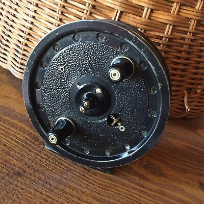 J W Young & Sons Rapidex Centre Pin Vintage Trotting/stalking Reel Classic 4  • 46£