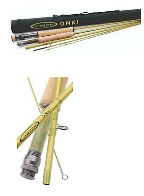 Vision ONKI 4pce 2020 Fly Fishing Rods • 240£
