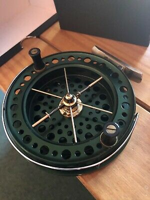J W Young Heritage Centrepin Reel 4 1/2inch, Immaculate Condition • 113.11£