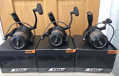Fox FX11 Carp Reels With Ice Washers And Spool Cap Mods • 100£