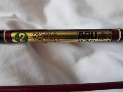 Abu Svangsta Parazoom 332 7ft Vintage Spinning Rod In Great Condition • 70£
