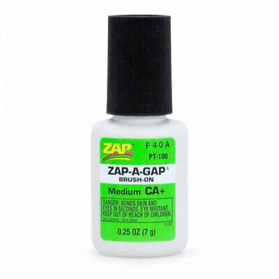 ZAP BRUSH ON Waterproof SUPER GLUE Perfect For Fly Tying & Fly Fishing • 4.99£