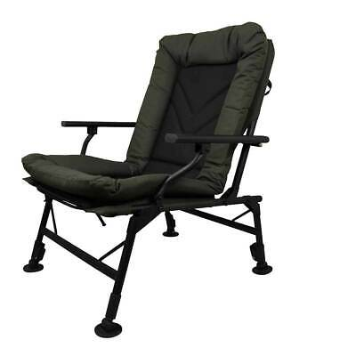 Prologic Comfort Carp Chair With Arms Ultra Padded Fishing Adjustable Legs • 67.99£