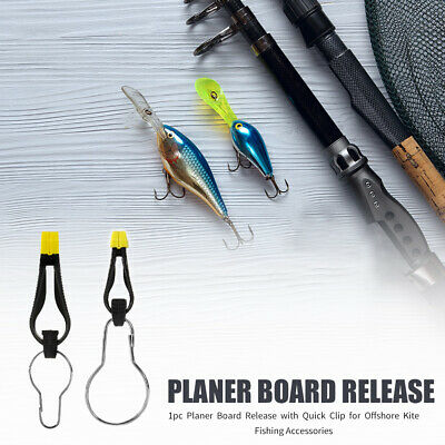 Planer Board Release With Quick Clip For Downrigger Offshore Kite Fishing • 4.14£