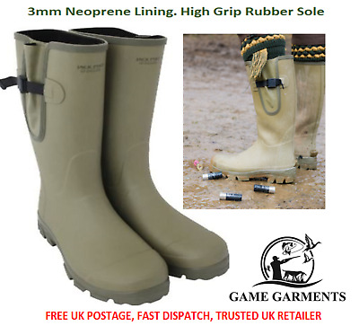 Wellies, Ashcombe Wellington Gusset Boots, Lined, Jack Pyke Shooting & Fishing • 69.95£