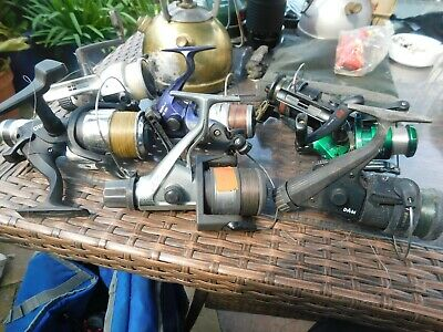 7 Fishing Reels Some Need Attension • 25£