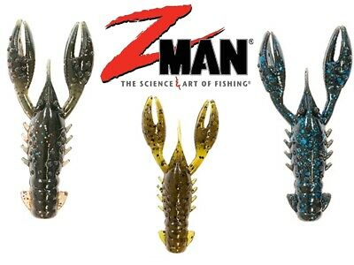 ZMan TRD CrawZ Lures 2.5inch For Z-Man ShroomZ Jig Heads Ned Rig Perch Fishing   • 6.99£
