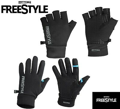 Spro Freestyle Fishing Gloves Touch Fingerless Perch Pike Zander Lure Fishing UL • 16.99£