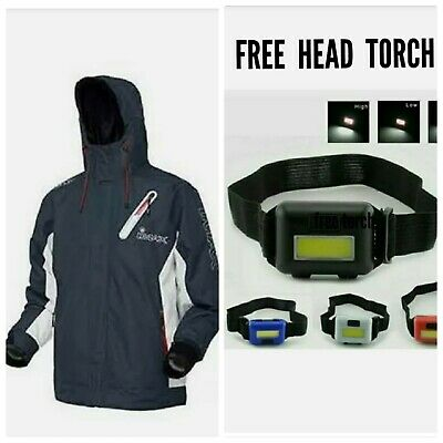 Imax Arx-20 Thermo Jacket Fishing Boat Shore.+ Free Head Tourch • 49.90£