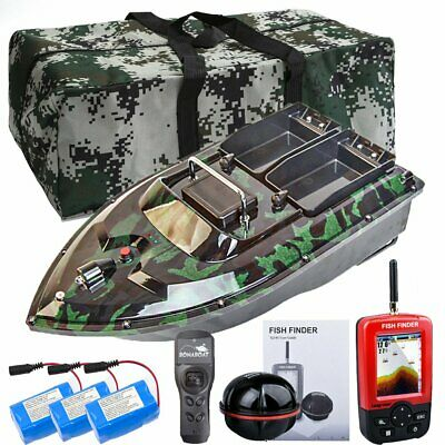 500M Wireless RC Fishing Bait Boat Hook Post With GPS Fishfinder Bag 2 Batteries • 178.99£