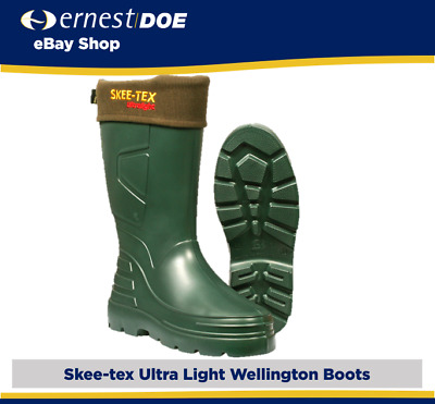 New Skee-Tex Skeetex Ultralight Lightweight Welly Boots Wellies - All Sizes • 34.95£