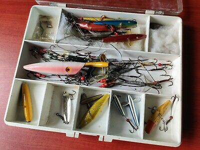 Selection Of Vintage Devon Minnows And Other Lures In Box  • 10.55£