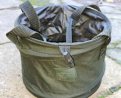 Nash Collapsible Bucket. Used. Fishing. Carp. Course. • 5.50£