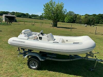 Williams 325 Turbo Jet RIB Boat Tender - Dinghy, Outboard, Inboard, Jetski • 9,500£