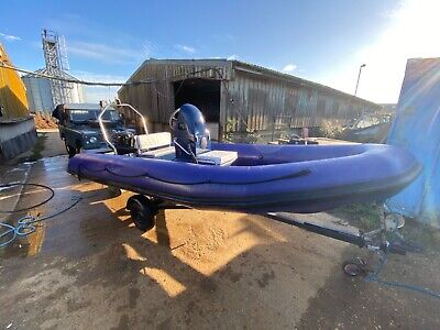 Rib Boat 5 Mtr  With 60 Hp  • 5,495£