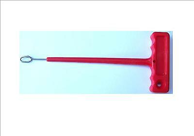 Sea Fishing Disgorger Hook Remover T Bar Fish Sea Beach Boat Q Shaped • 2.99£