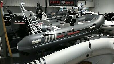 Excel Virago 350 Aluminium Rigid Inflatable Boat Rib With Suzuki 30hp • 11,799£