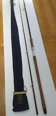Hardy Fibalite Spinning Rod 9'6 , With Makers Bag. • 75£