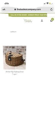 Brand New Wicker Fishing Creel • 15.70£