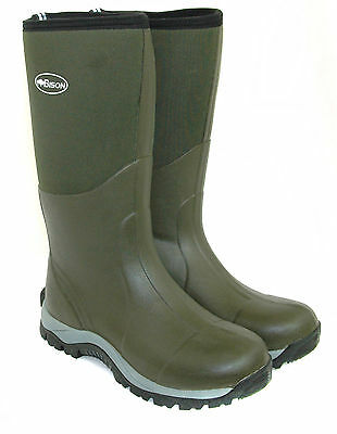 BISON 10mm WINTER NEOPRENE WELLINGTON MUCK BOOT • 49.99£
